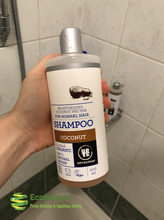 Urtekram kokosový šampon