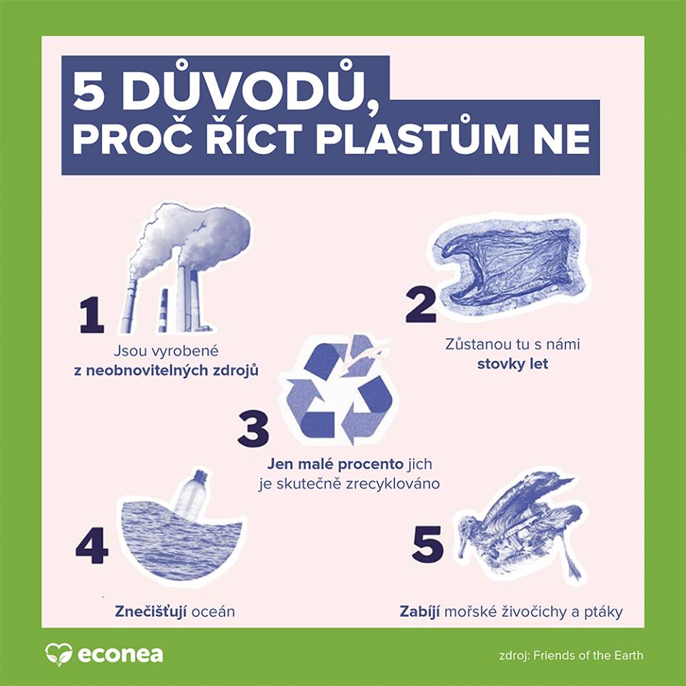 5 důvodů, proč říct plastům NE