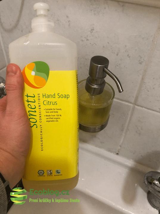Sonett tekuté mýdlo