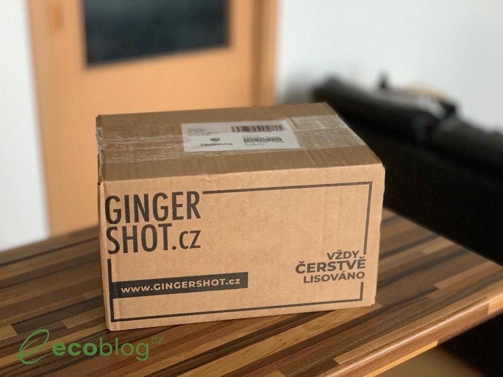 ginger shot balík