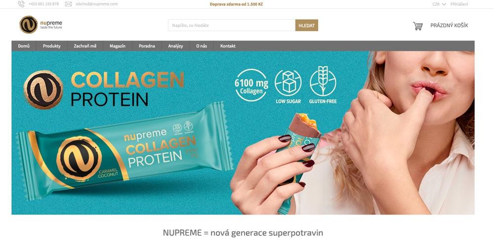 nupreme homepage