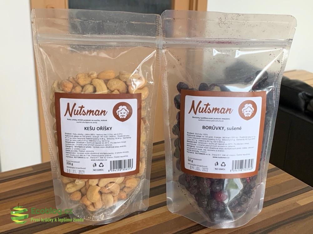 nutsman kešu a borůvky