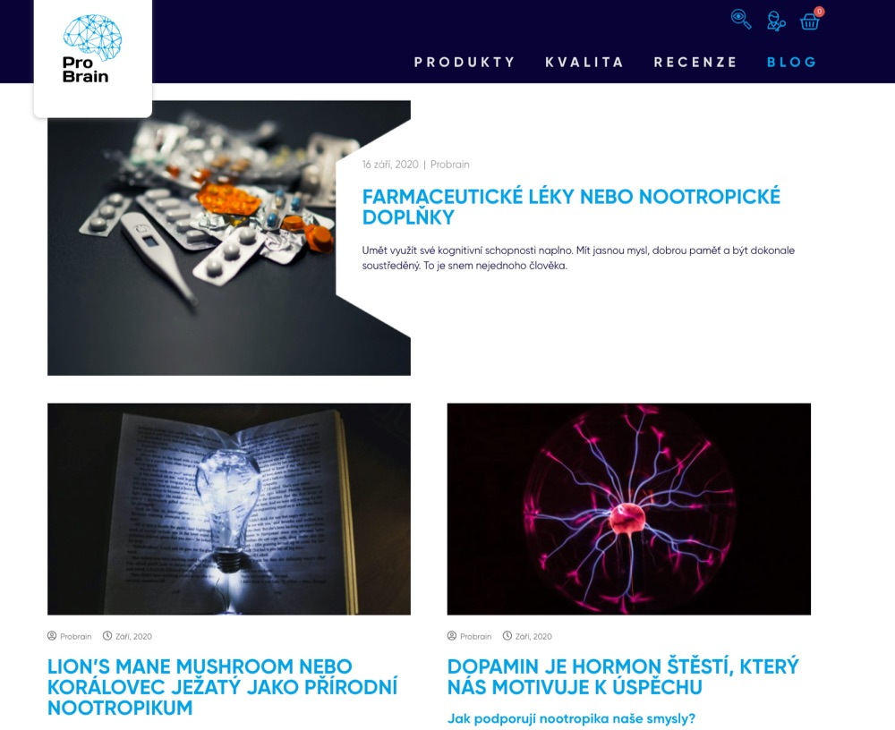 pro brain blog