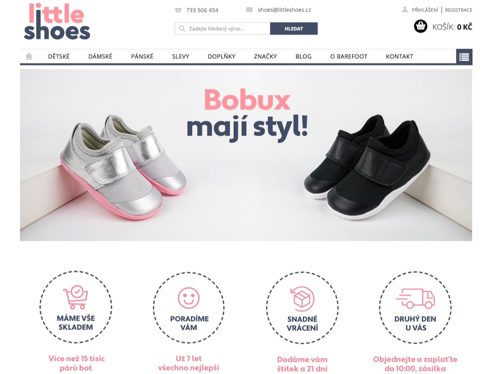 little shoes homepage