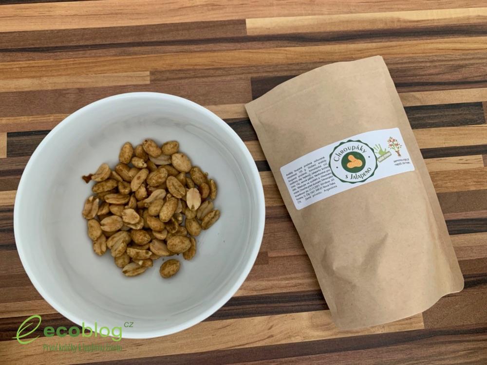 semínka chilli arašídy