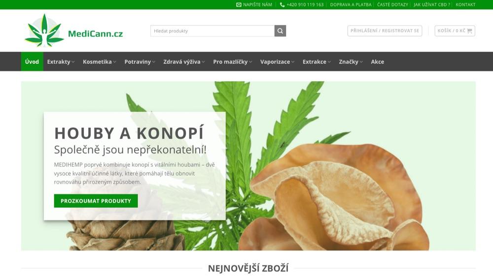 medicann homepage