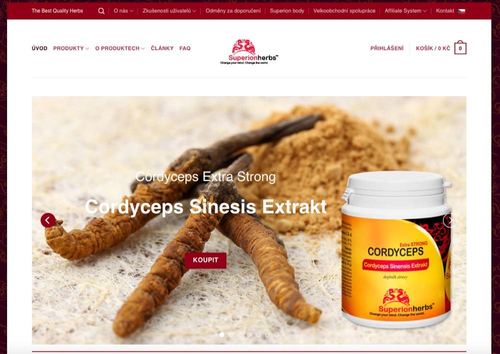 superionherbs homepage