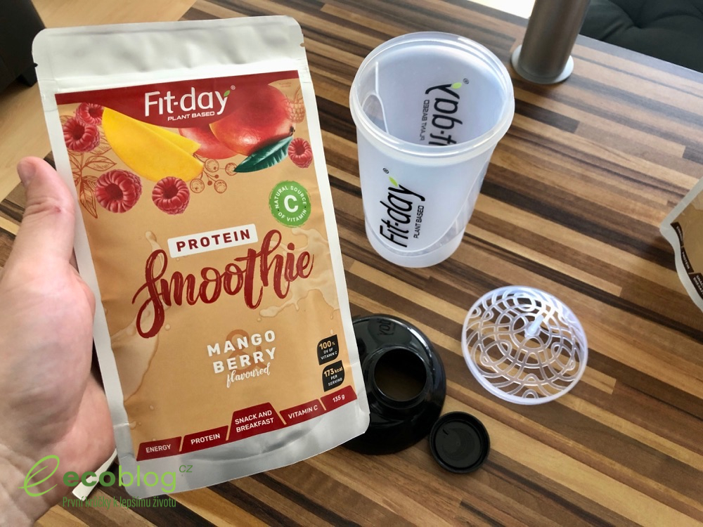 fit-day protein smoothie