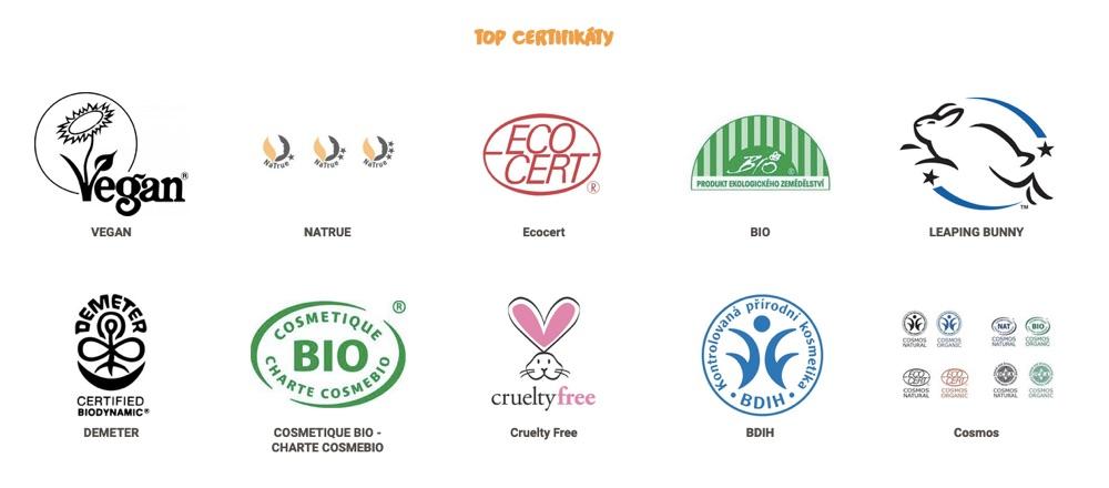 biooo certifikáty