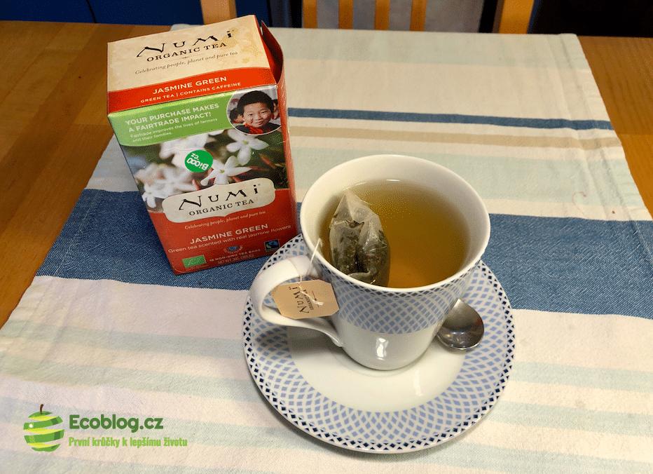 numi zelený čaj