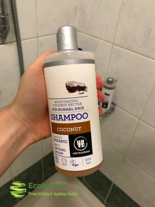 Econea: Urtekram kokosový šampon – recenze