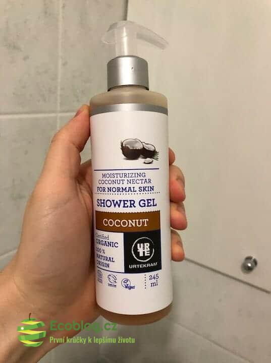 Econea recenze: Urtekram sprchový gel s kokosovým nektarem
