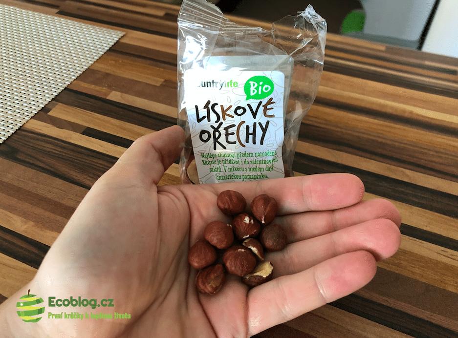 bio lískové ořechy