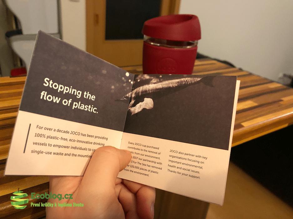 ekologický skleněný hrnek jococup