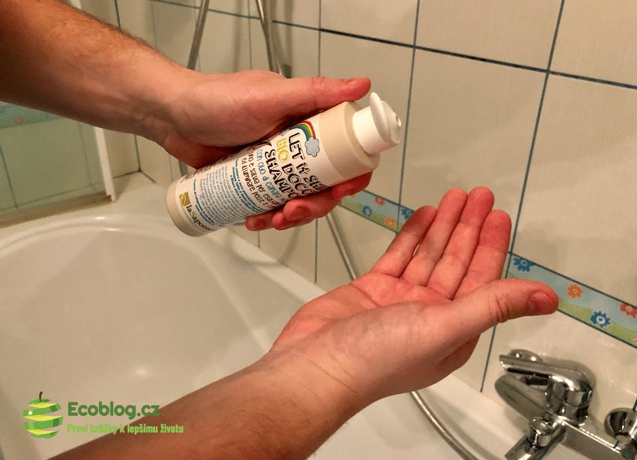laSaponaria pánský sprchový gel