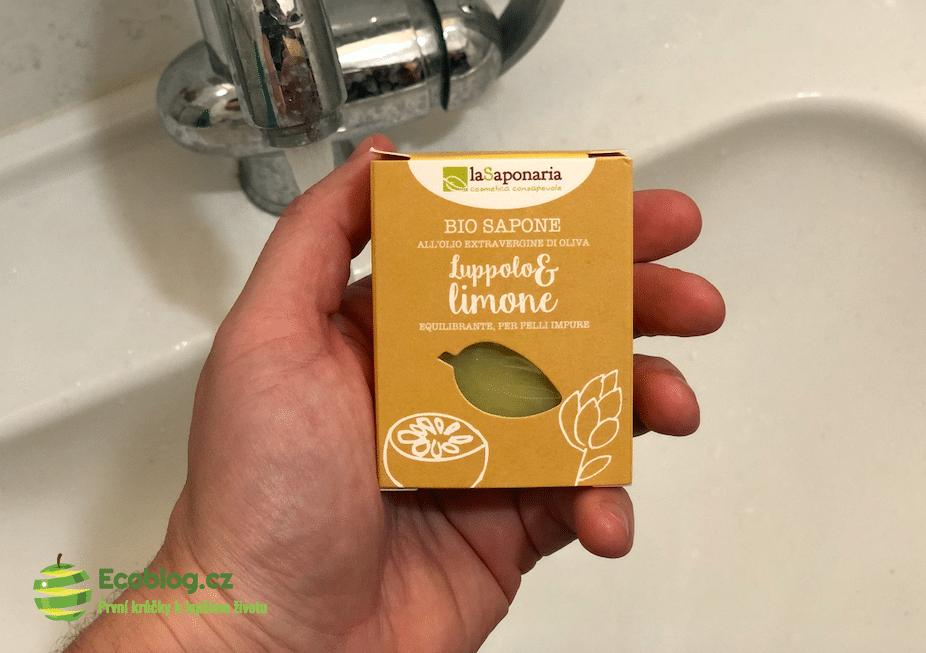 laSaponaria tuhé olivové mýdlo BIO