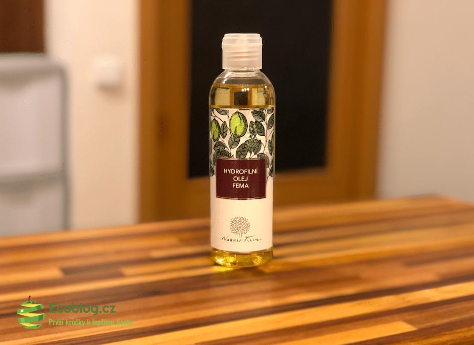 Econea recenze: Nobilis Tilia hydrofilní olej na intimní hygienu