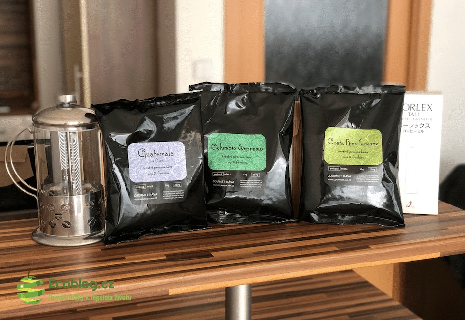 Gourmet káva: Moje první objednávka a zkušenost