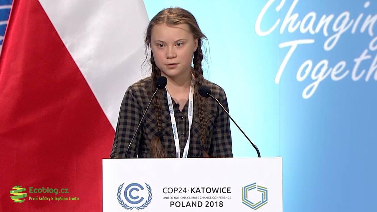 Světové ekonomické fórum v Davosu navštívila 16letá ekoložka