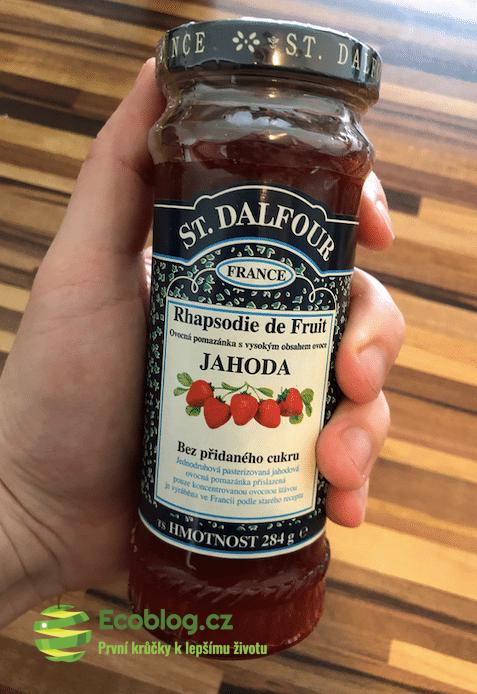 Countrylife recenze: Jahodový džem Dalfour