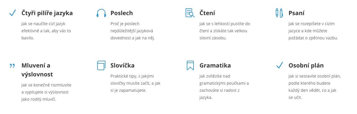 jazyky od píky průběh