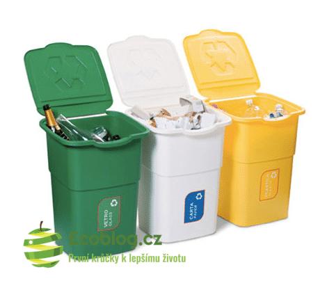koše na tříděný odpad