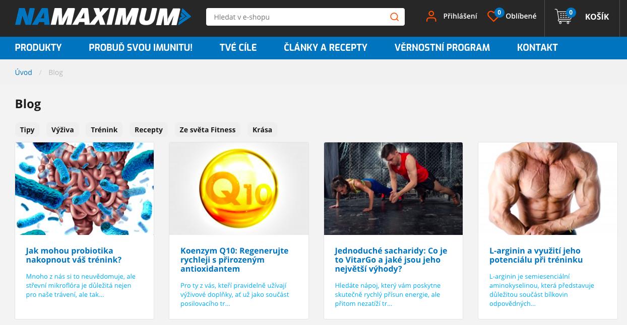 namaximum blog