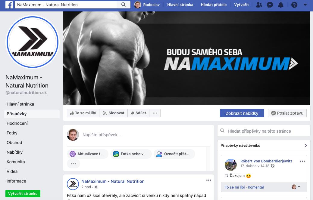 namaximum facebook