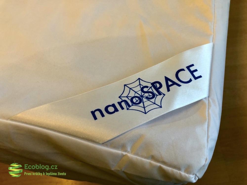 protiroztočové lůžkoviny nanospace