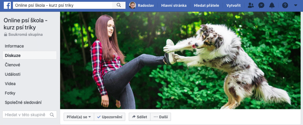 online psí škola