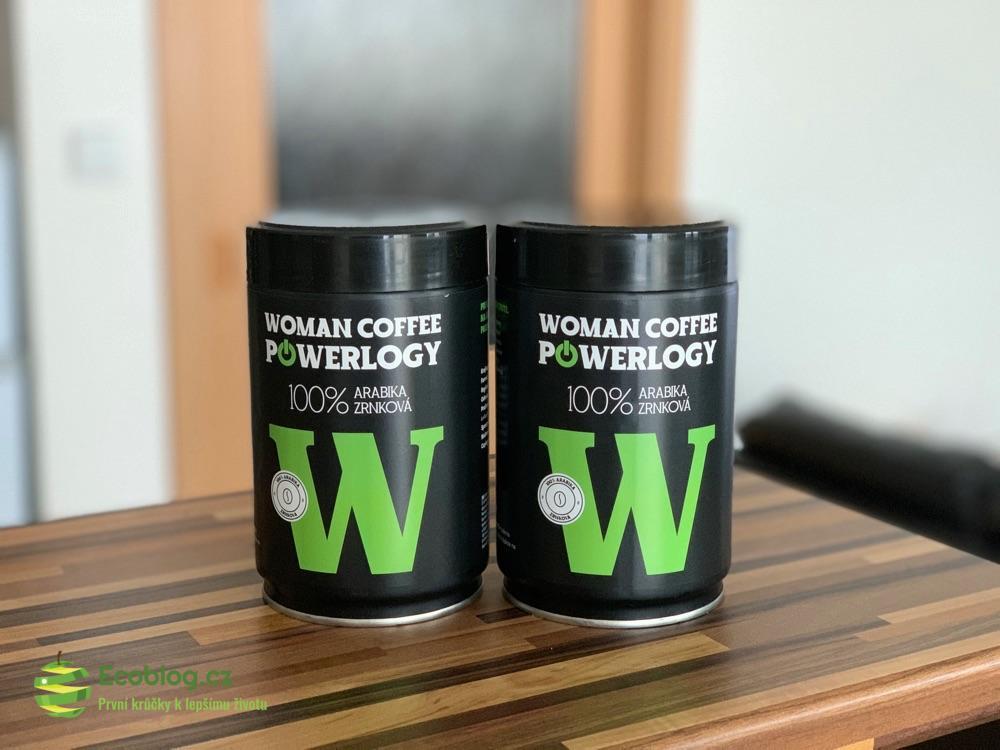 powerlogy woman coffee