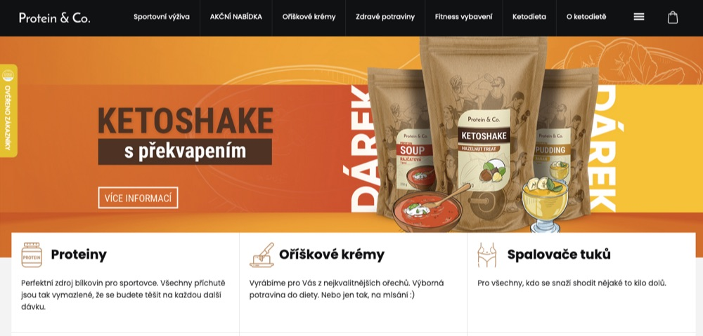 protein&co. homepage
