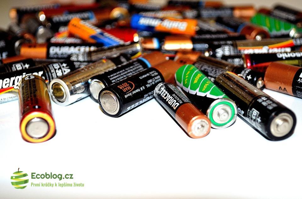 Jak probíhá recyklace baterií