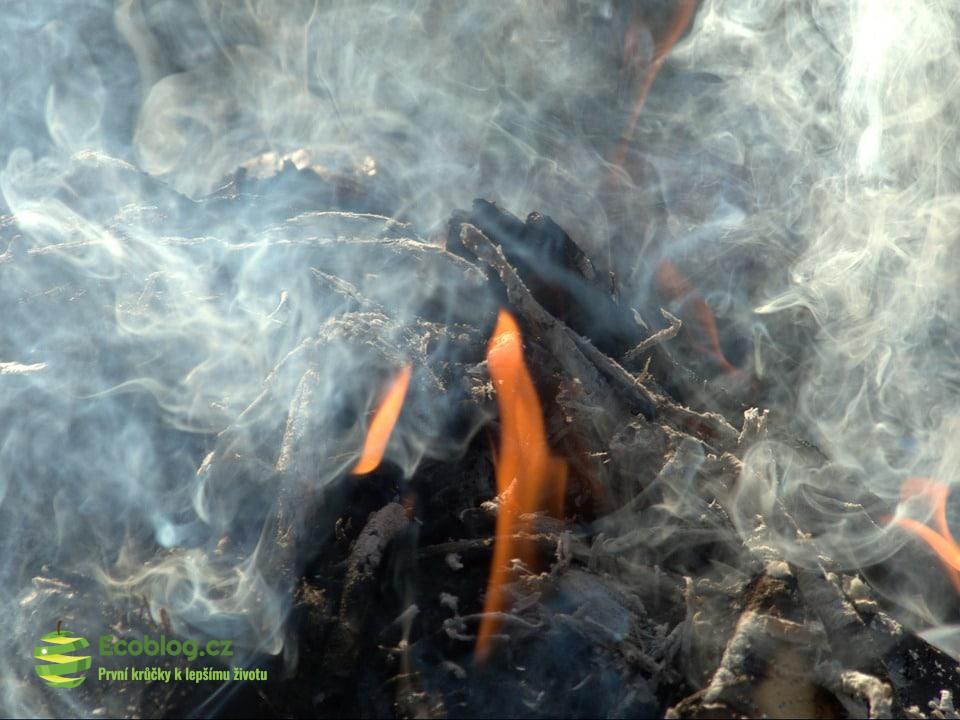 spalování v kotli
