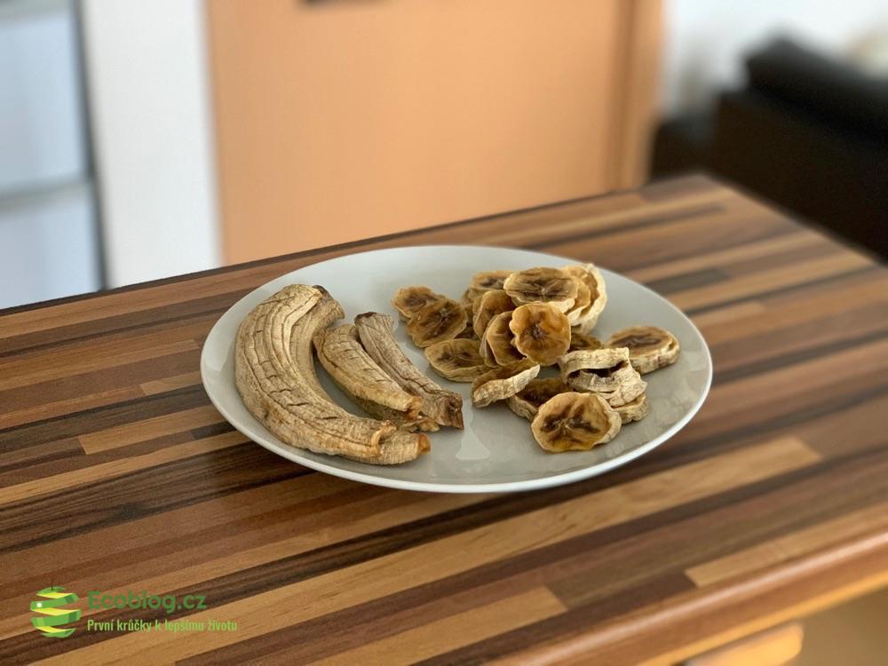 sušené banány