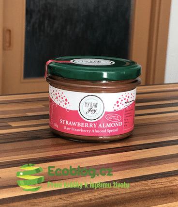 Vitalvibe recenze: Krém z aktivovaných mandlí s jahodami a moje zkušenosti