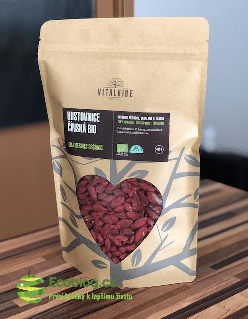 Vitalvibe recenze: Kustovnice čínská (Goji berries)