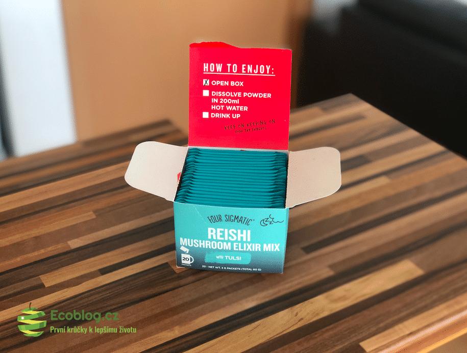 Reishi mushroom elixir
