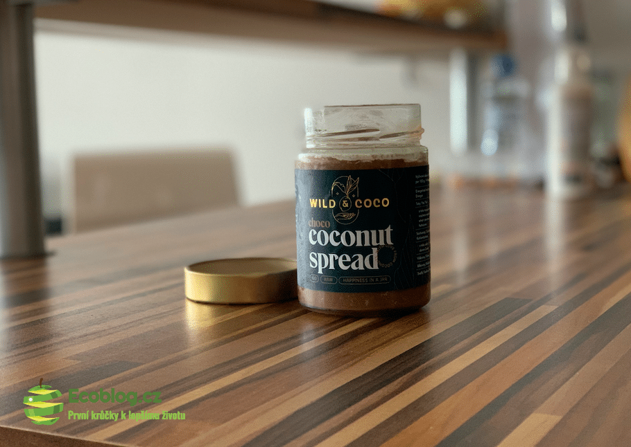 kokosová čokoládová pomazánka
