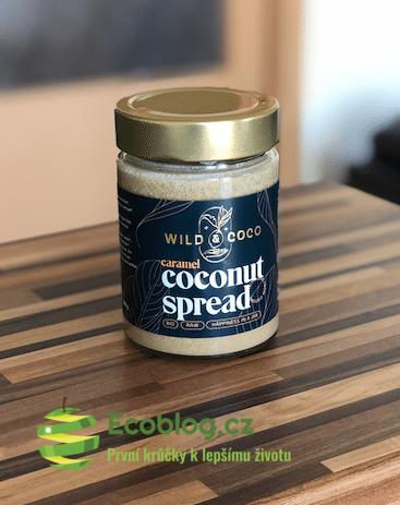 Wild&Coco recenze: Karamelová kokosová pomazánka