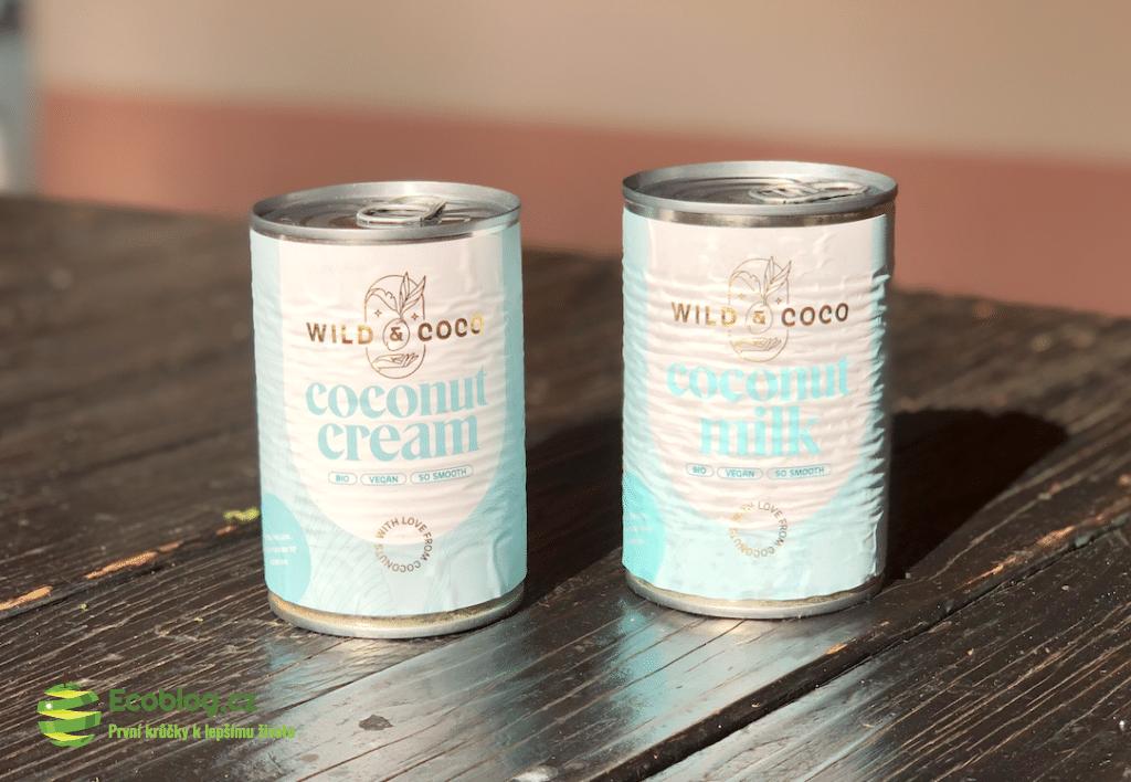 kokosová smentana
