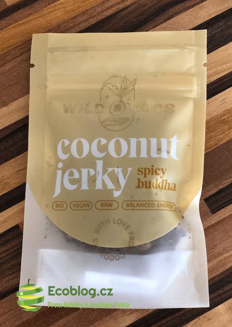 Wild&Coco recenze: Kokosové jerky spicy buddha