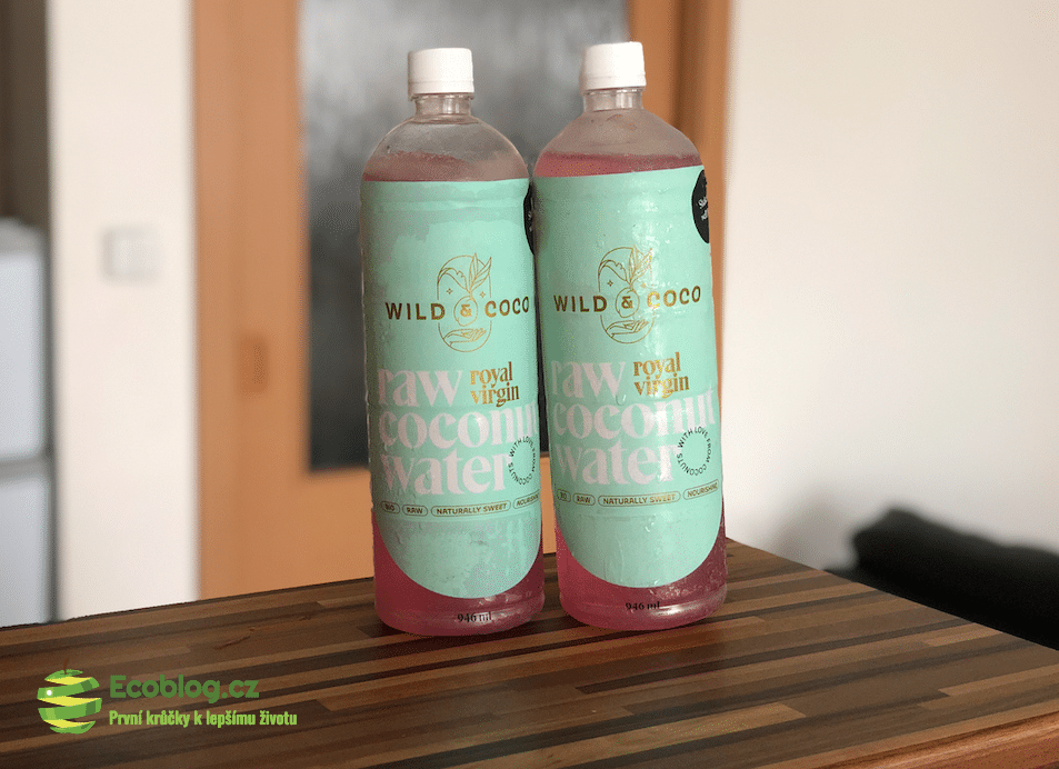 panenská kokosová voda