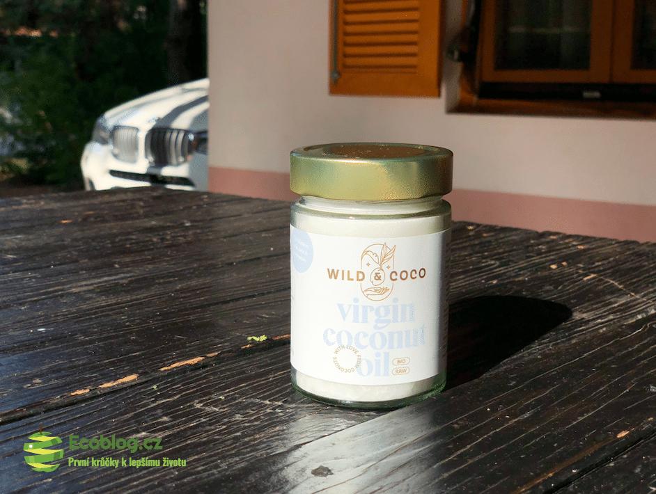panenský raw kokosový olej
