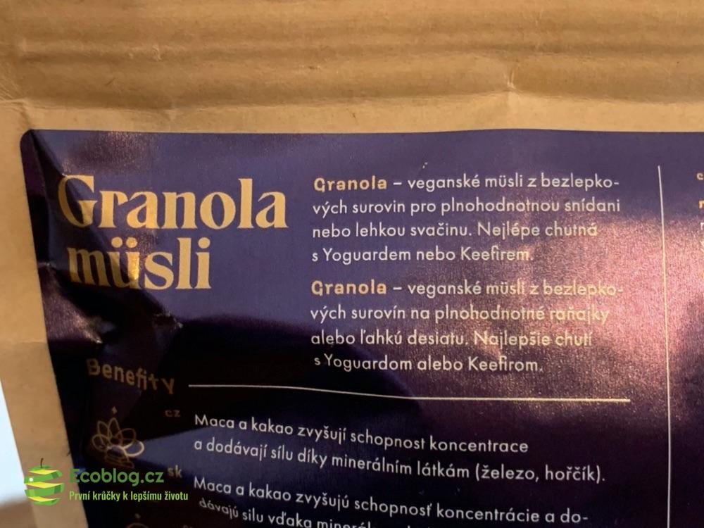 wild & coco granola