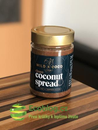 Wild&Coco: Kokosová čokoládová pomazánka – recenze