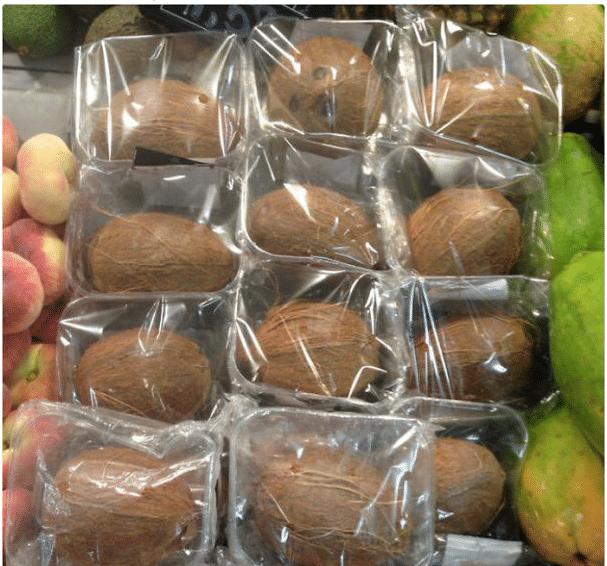 kokosy v obalu