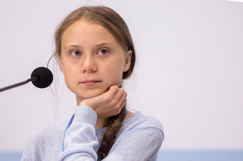 Greta Thunberg a její proslov v Katowicích - česky